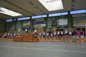Nachwuchs-Einzelwettkampf der Turnerinnen in Wallau @ Ländcheshalle