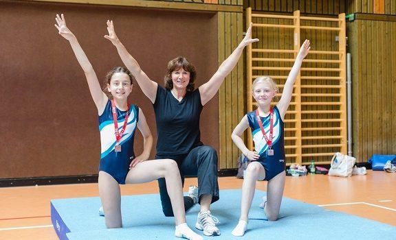 Delkenheimer Turnerinnen bei den Hessischen Finalwettkämpfe im Gerätturnen