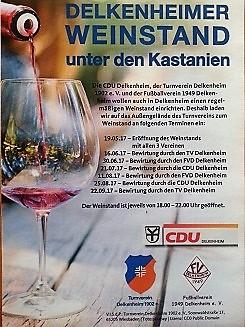 Auch Delkenheim hat jetzt einen Weinstand