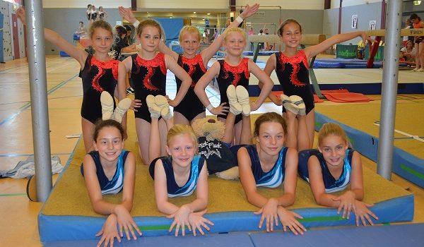 Mannschaftswettkampf der Mädchen