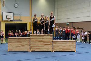 Einzelwettkampf der Turner in Niederseelbach