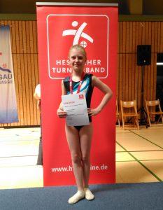 Hess. Finalwettkämpfe der Jugendturnerinnen und Schülerinnen
