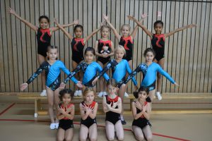 Nachwuchs-Mannschaftswettkampf der Turnerinnen @ Turnhalle der Comenius-Schule