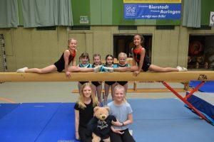 Nachwuchs-Einzelwettkampf der Turnerinnen @ Ländcheshalle