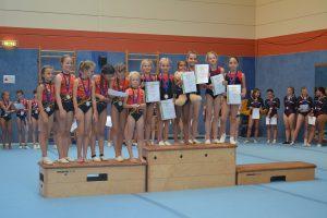 Mannschaftswettkampf der Turnerinnen 1. Runde @ Jahnhalle TV Hahn